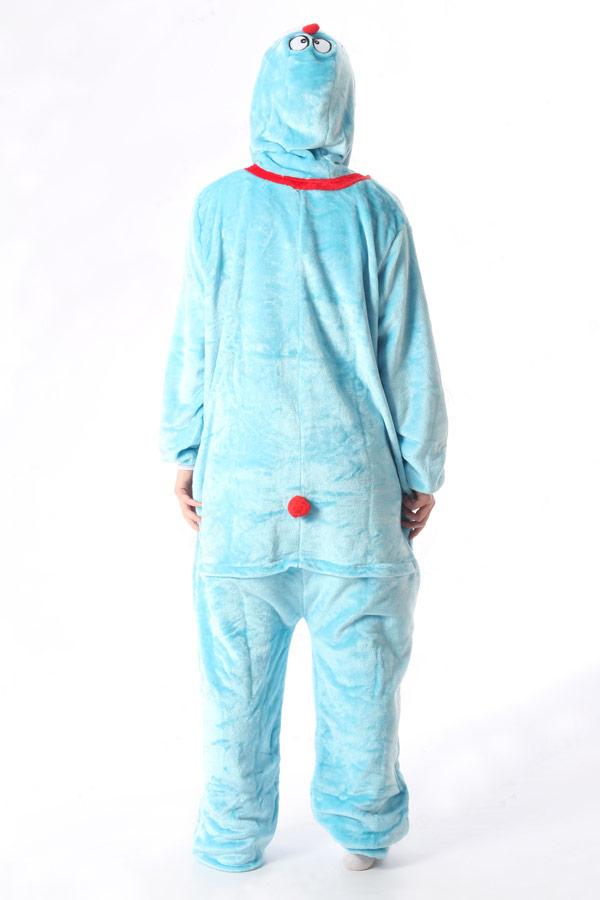 Недорого купить кигуруми в виде голубого кота в СПб