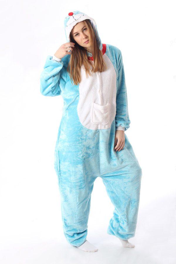 Пижама кигуруми в виде голубого Кота / Котенка / Кошки в СПБ недорого