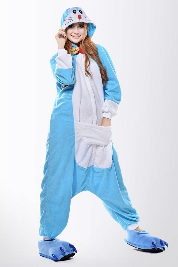 Пижама Голубой Кот Дораэмон - Купить пижаму кигуруми в СПб недорого d1e6a9a0ab954