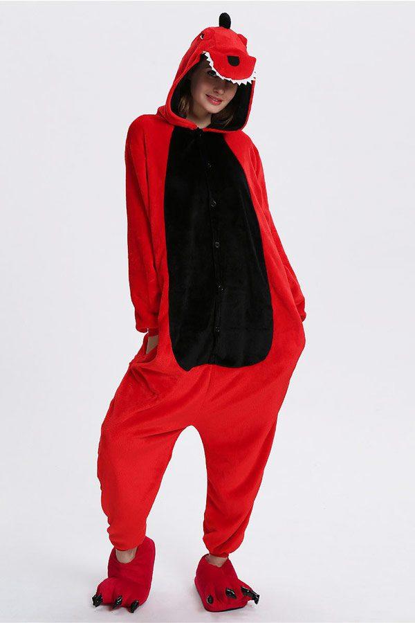 Пижама кигуруми в виде Касного Черного дракона динозавра крокодила в СПБ недорого