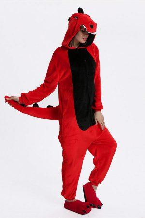 Купить Кигуруми Красный Дракон / Динозавр в СПБ
