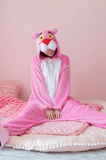 Пижама кигуруми в виде Розовой Пантеры в СПБ недорого