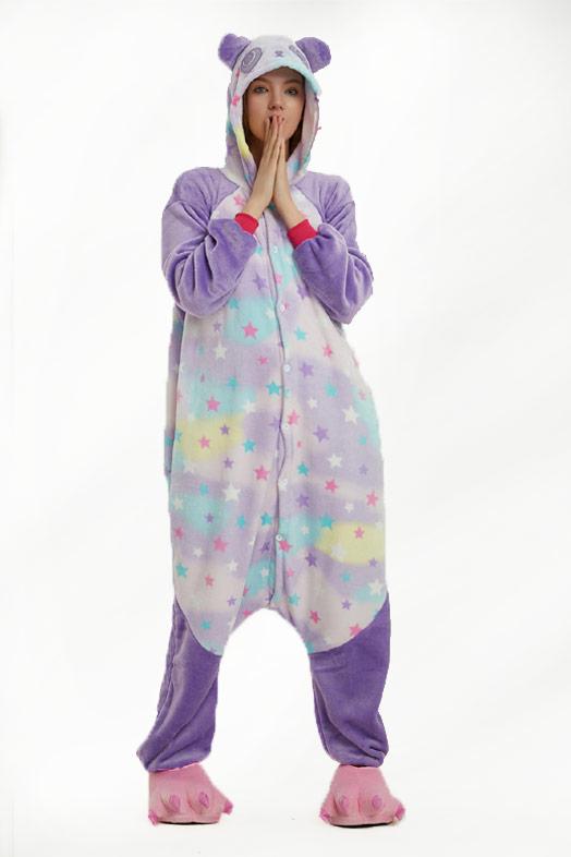 Кигуруми Звездная Панда - Купить пижаму кигуруми в СПб недорого 938fb65b5b985