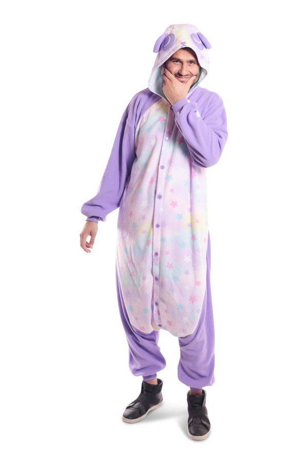 Пижама кигуруми Панда в звездочку в СПб