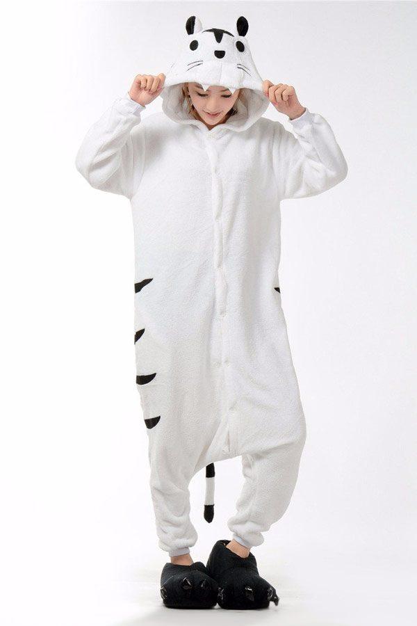 Купить кигуруми Белый тигр в СПБ