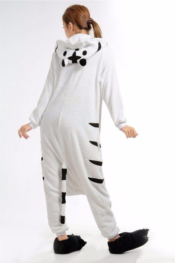 Недорого купить кигуруми в виде Белого Тигра в СПб