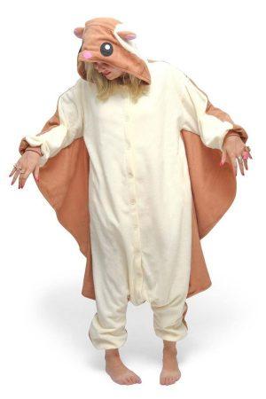 Пижама кигуруми Белка Летяга купить в СПБ