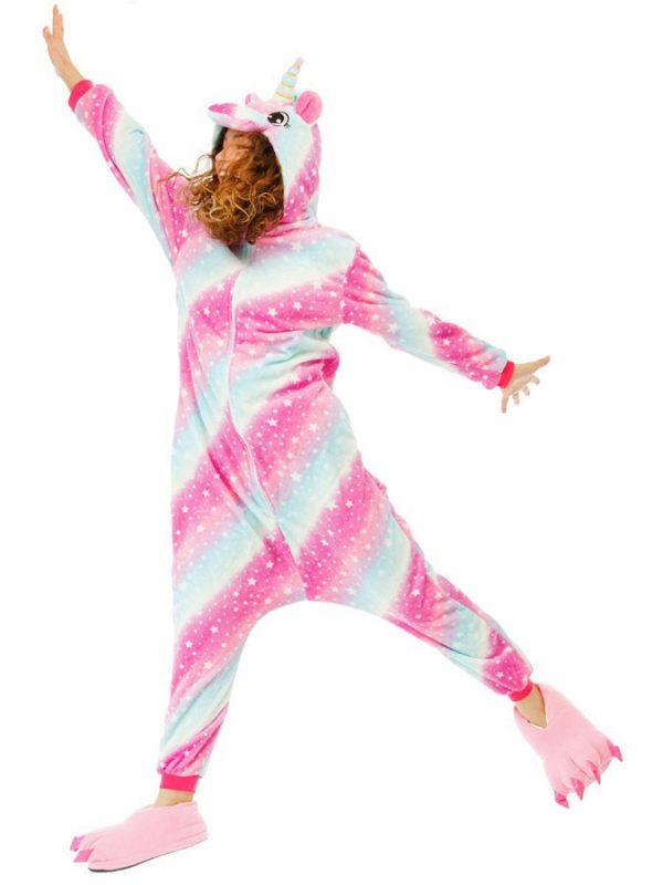 Пижама кигуруми Космический Единорог в звездочку купить в СПБ