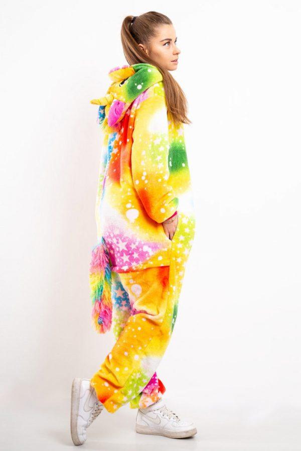 Пижама кигуруми в звездочку радужный галактический пони единорог в СПБ недорого