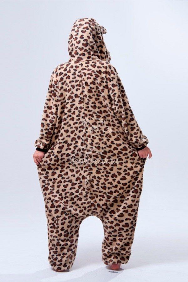 Недорого купить кигуруми в виде Леопарда Ягуара в СПб