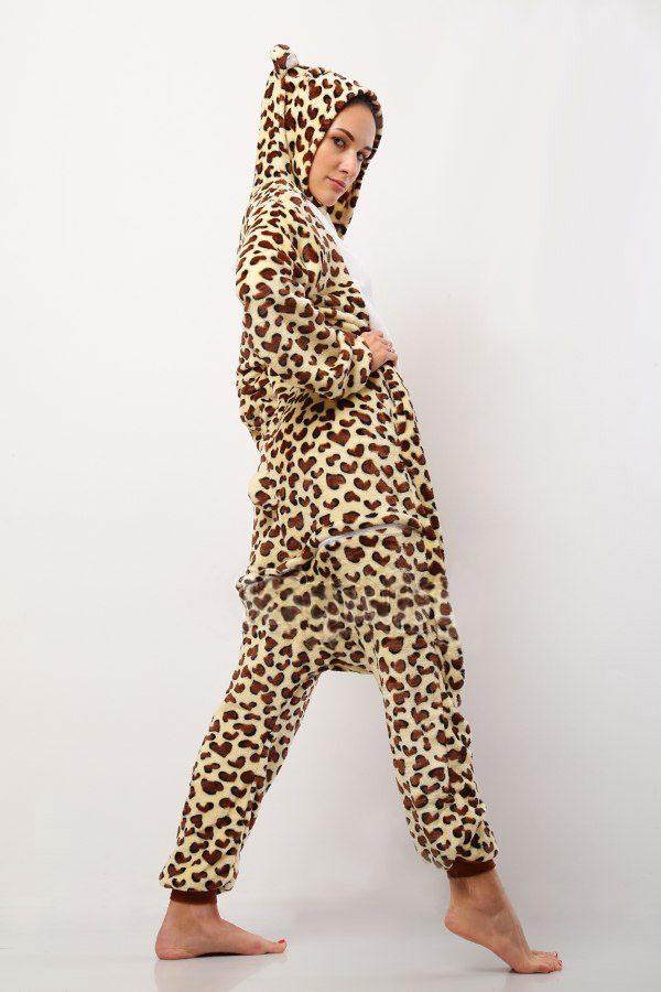 Пижама кигуруми Пятнистый Леопард купить в СПБ