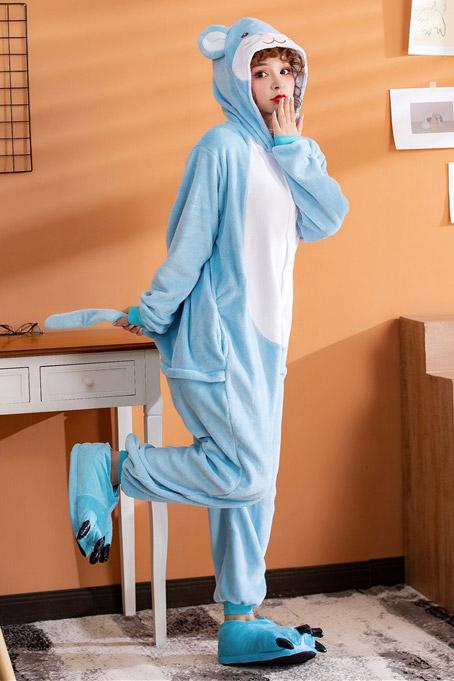 Голубая Пижама кигуруми Мышка / Крыса / Мышь в СПБ недорого