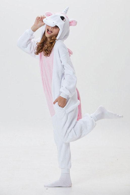 Розовый костюм пижама кигуруми с крыльями единорог купить в спб недорого
