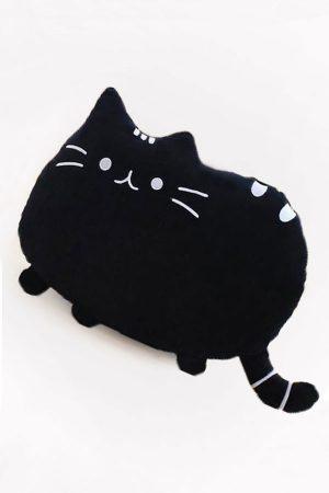 Купить Подушку Кот Пушин Черный Pusheen Cat в СПб