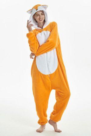 Кигуруми Лис / Лисенок купить пижаму кигуруми в СПБ недорого