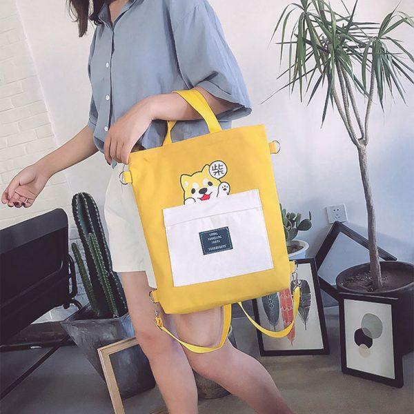 Женский рюкзак сумка купить недорого в интернет магазине щенок корги