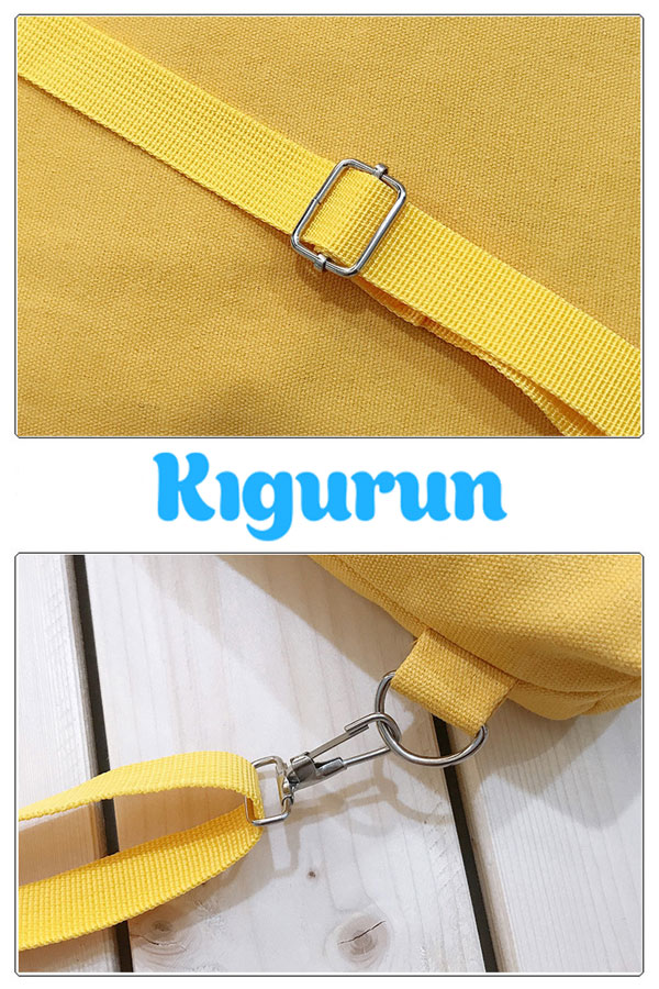 Купить желтую сумку рюкзак KIGURUN