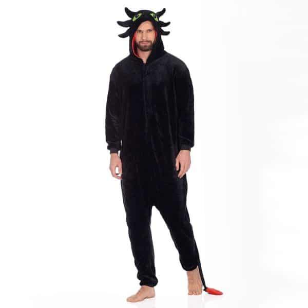 Кигуруми Беззубик - Купить Пижаму Черный Дракон Беззубик в СПб недорого