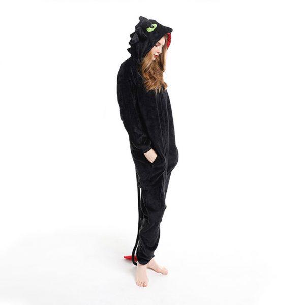 Пижама кигуруми на молнии дракон Беззубик в СПБ недорого