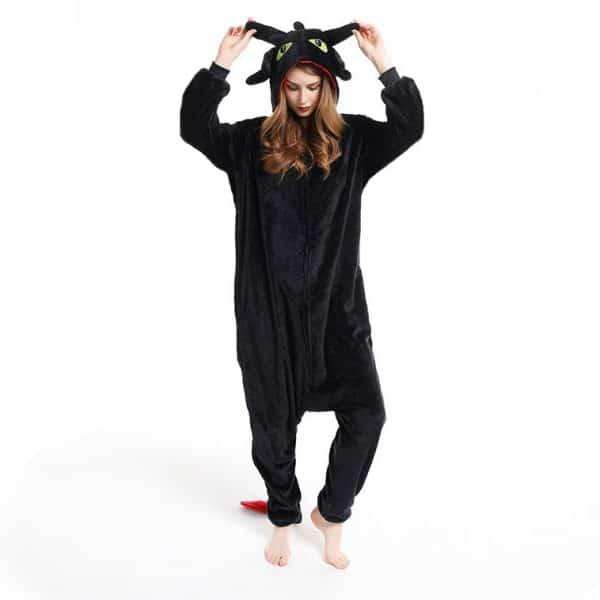 Пижама кигуруми Дракон Беззубик как приручить дракона купить в магазине СПБ