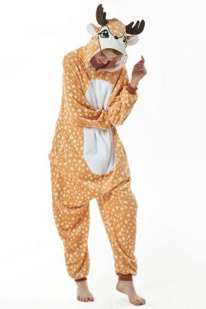 Кигуруми Олененок - Купить пижаму кигуруми в виде Оленя в СПб недорого
